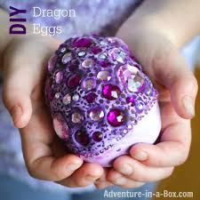 how to make fantasy dragon eggs adventure in a box