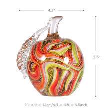 best and cheap multicolored tooarts colorful apple gift glass