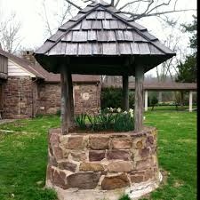 because every back garden needs a wishing well miss montgomery
