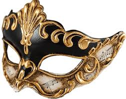 venetian mask venetian mask side transparent png stickpng