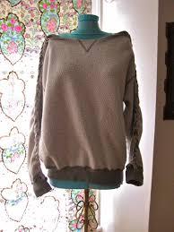 wanderland vintage diy braided sweatshirt
