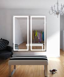 full length lighted wall mirrors integrity lighted wardrobe mirror electric mirror