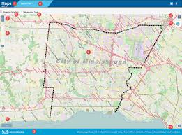 ca map mississauga ca services maps