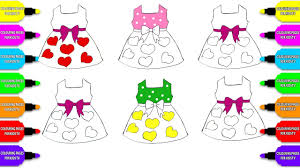 how to draw coloring pages heart dress bow clothes coloring