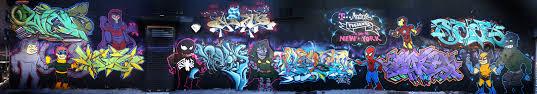 simpsonized marvel superhero wall mural geektyrant 3695004771 4b8f094006 o