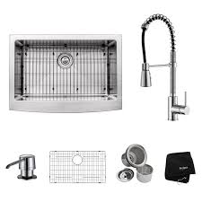 Kitchen Sink And Faucet Sets by Kitchen Sink And Faucet Combos At Faucet Com