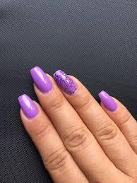 acrylic powder over my natural nail with gel polish and a semi