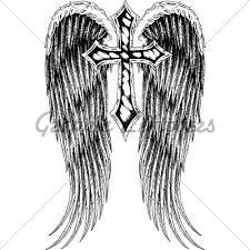 best 25 cross with wings tattoo ideas on pinterest black cross