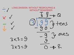 Long Division Worksheets 3rd Grade Long Division Without Regrouping U0026 Without Remainder Math