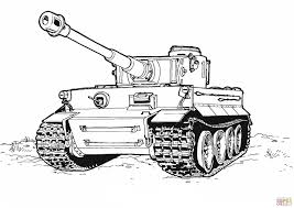 tiger tank coloring page free printable coloring pages