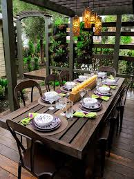 outdoor decorations patio table decoration ideas patio table