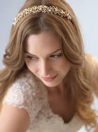 bridal headband priscilla pearl gold headband shop bridal headpieces usabride