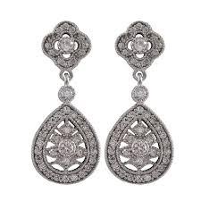 vintage earrings kate middleton inspired vintage earrings royal wedding earrings