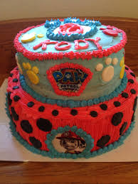 paw patrol cake 2 tier birthday ideas for liam pinterest
