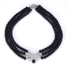 white necklace fashion jewelry images U7 fashion jewelry choker necklaces for women rhinestone 2 colors jpg