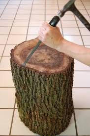 Stumped How To Make A Tree Stump Table The Art Of Doing Stuffthe
