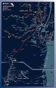 Hudson Bergen Light Rail Map An Eye Pleasing Ny Nj Rail Map Metafilter