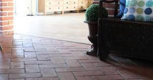 wohnideen terrakottafliesen inneneinrichtung handgemachte terrakotta salon küche