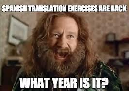 Meme Translation - 8 surprising online resources for diy spanish translation exercises