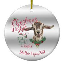 baby goat ornaments keepsake ornaments zazzle