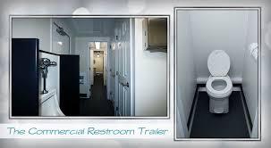 Commercial Bathroom Door Construction Restroom Trailers Long Term Bathroom Trailers Job