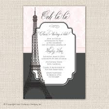 paris baby shower invitations u2013 gangcraft net