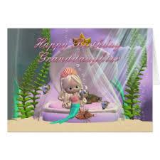 little mermaid greeting cards zazzle