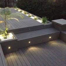 lighting for deck stairs outdoor step lighting solar step lights