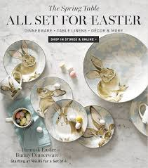 Williams Sonoma Table Linens - williams sonoma the easter guide set the perfect table milled