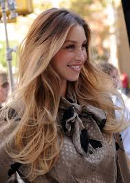 hairstyles for curly hair ombre hair
