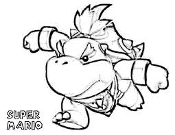 bowser jr free coloring pages on art coloring pages