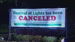 festival of lights orange county popular orange county holiday light display canceled