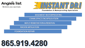 instant dri foundation u0026 waterproofing specialists in knoxville tn