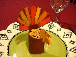 turkey favors for thanksgiving or turkey dinner