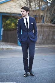 suits for a wedding picture of 2014 wedding trend navy suits for grooms
