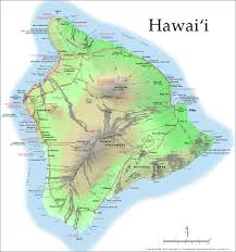 Hawaii World Map Volcanology Of Hawai U0027i