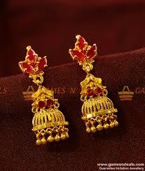 danglers earrings design er420 danglers ear ring peacock cubic zircon party