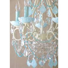 turquoise beaded chandelier 5 light beaded chandelier with opal aqua blue crystals
