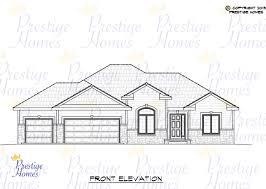 residential floor plans and elevations prestige homes floor plans