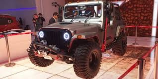 jeep car mahindra mahindra thar off roader could be coming to australia