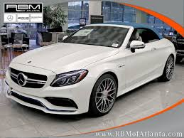 New C New 2018 Mercedes Benz C Class C 63 S Amg Cabriolet Cabriolet In