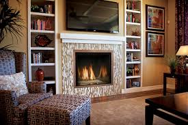 Tv In The Middle Of The Living Room by How To Decorate A Long Living Room With Fireplace In The Middle