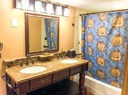 themed bathroom ideas caribbean themed bathroom resort bathroom in a pirate themed
