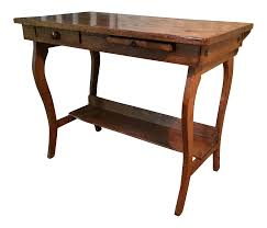 Student Desk Woodworking Plans by Antique Early 1900 U0027s Oak Student Desk Chairish