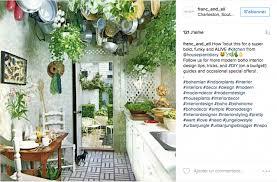 plante cuisine decoration decoration boheme cuisine lineaire accueil design et mobilier