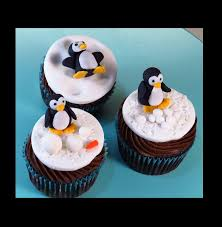 How To Make Plastic Icing Decorations Christmas Fondant Penguin Cupcakes How To With The Icing Artist