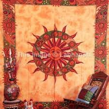 tapestry home decor astrology wall hanging indian horoscope tapestry ethnic home decor