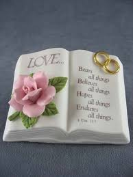 wedding cake quotation verse bible wedding cake topper wedding