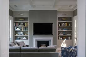 Recessed Wall Niche Decorating Ideas Niche Tv On Decoration D Interieur Moderne Bedroom Flatscreen Tv