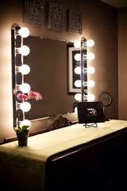 Table Vanity Mirror Table Top Vanity Mirror With Lights Colour Story Design